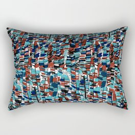 Abstract Feathers Rectangular Pillow