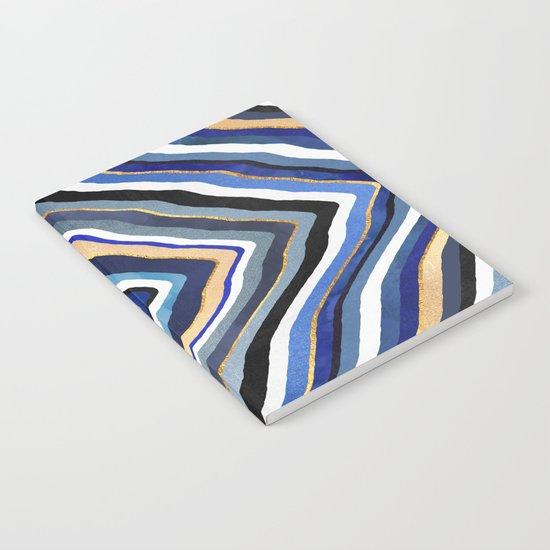 Blue Slice Notebook