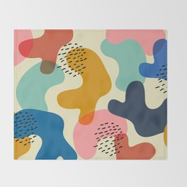 Camouflage Chic Throw Blanket