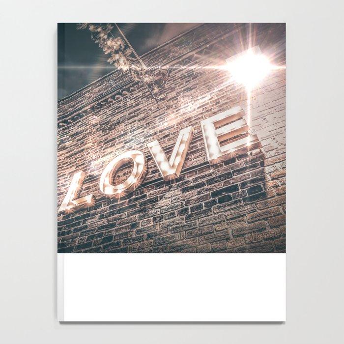 LET LOVE SHINE Notebook