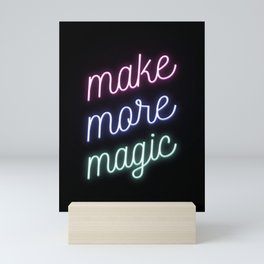 Make More Magic Mini Art Print