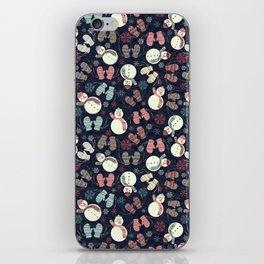 winter fun iPhone Skin