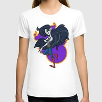 marceline T-shirts featuring Marceline by Silvering