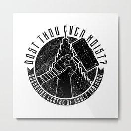 Asgardian Training Metal Print