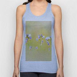 Three lilac flowers Unisex Tank Top