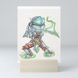 Genji Mini Art Print