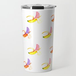 Banana – Pattern yellow – orange Travel Mug