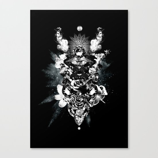 Orchids & Diamonds Canvas Print