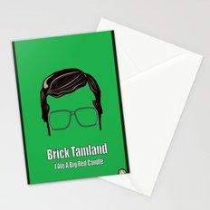 Brick Tamland: Weather Stationery Cards