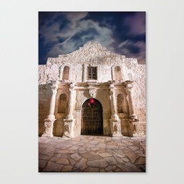 Color - Alamo, San Antonio, Texas Canvas Print