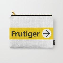 Frutiger arrow | W&L007 Carry-All Pouch