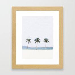 Palm trees 6 Framed Art Print