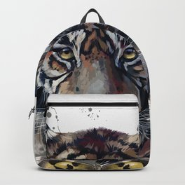 Tiger and Butterfly Backpack