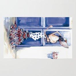 Flamenca Blue Rug