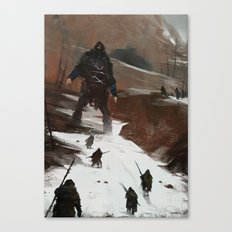 last of a dying tribe Canvas Print