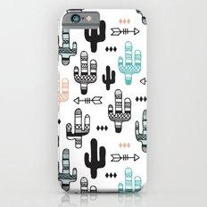 Indian summer cactus garden illustration pattern Slim Case iPhone 6s