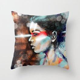 Nova Spike Throw Pillow