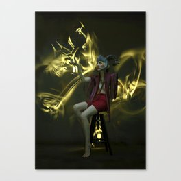 Maleficent Conjuring Canvas Print