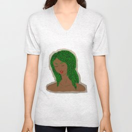 Medusa's Locks Unisex V-Neck