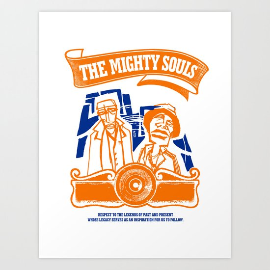 The Mighty Souls: Hip Hop Legends Art Print