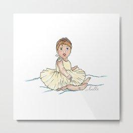 Baby Ballerina Metal Print