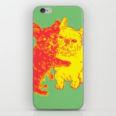 <3 Doggies iPhone & iPod Skin