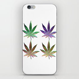 Cannabis Rainbow Design (121) iPhone Skin
