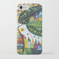 snail iPhone & iPod Cases featuring Snail by Annabies