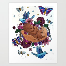 REJOICE Art Print
