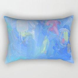 The Dream - Abstract Fresh Contemporary Rectangular Pillow