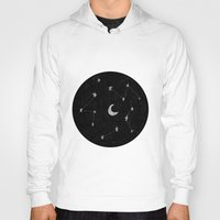 constellations Hoodies featuring constellations I by TRANSLÚCIDO