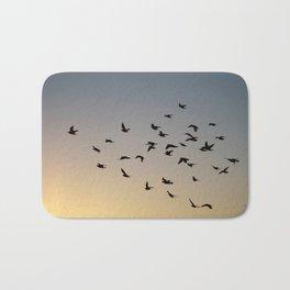 Gary's pigeons Bath Mat