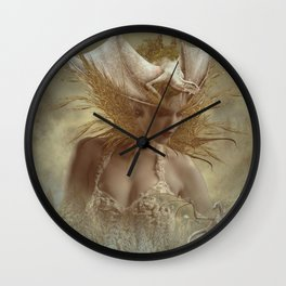The dragon Keeper Wall Clock