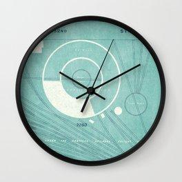 CITYSHAPES / Abstract Map 001 - New York Wall Clock