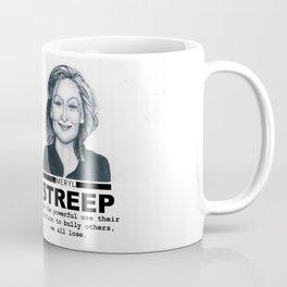 Meryl Streep Coffee Mug