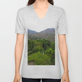 Dreamy Mexican Jungle Unisex V-Neck
