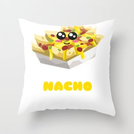 It's Nacho Business Funny Nacho Pun Throw Pillow