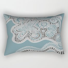 Just a Squiggle Here and There Rectangular Pillow