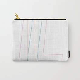 Intertwined Strength and Elegance of the Letter L Carry-All Pouch