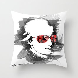 Wolfgang Amadeus Mozart Throw Pillow