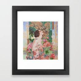 Oriental Rose Framed Art Print
