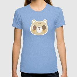 Cute Bear Pattern / Repeat Print / Orange T-shirt