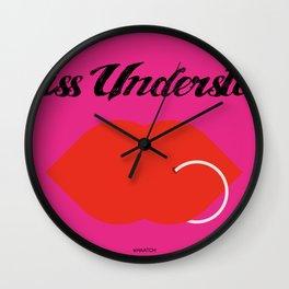 MissUnderstood Wall Clock