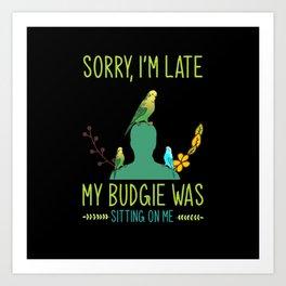Budgie, Budgie Burdgerigars, Budgie Birds Art Print