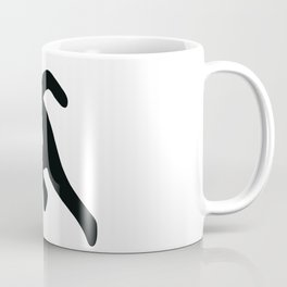 Running Stickfigure Coffee Mug