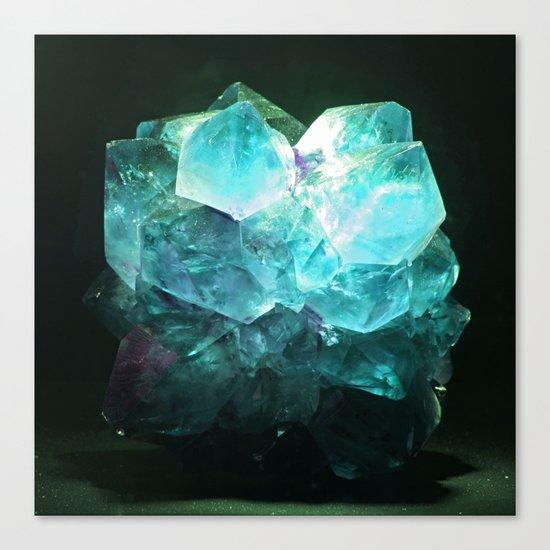 My Magic Crystal Story Canvas Print