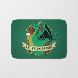 The Green Dragon Pub Bath Mat