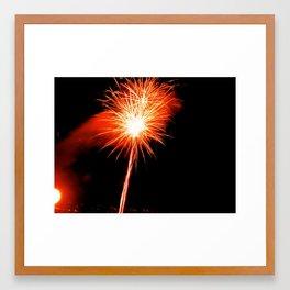 Firework II Framed Art Print