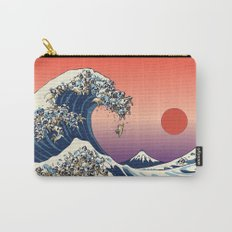 The Great Wave of Pug Carry-All Pouch