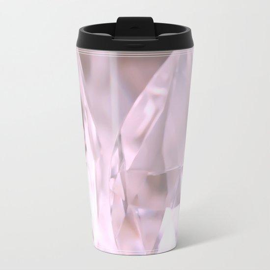 Something Pink And Shiny... For You! Metal Travel Mug